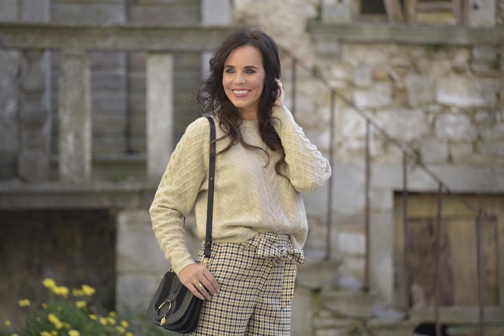 Stile del giorno: culottes e maglione