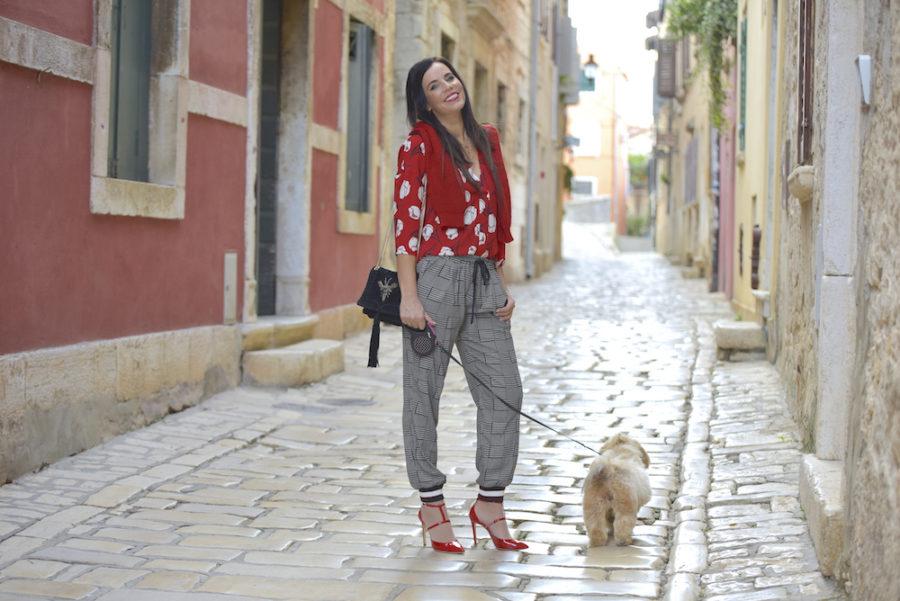 Stile del giorno: rosso e nero - Lorella Flego
