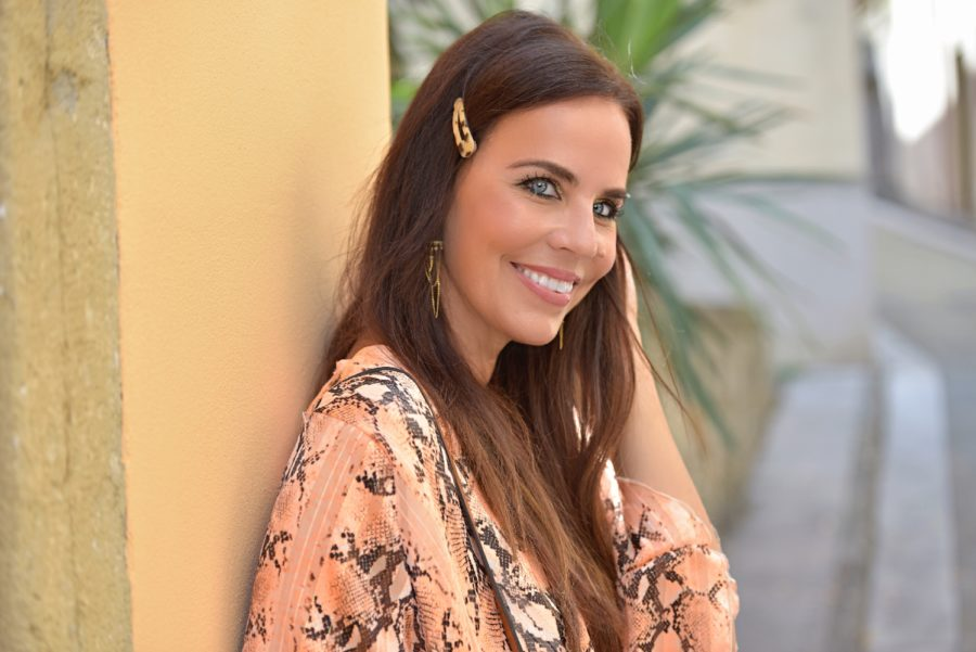 Stile del giorno: l'abito arancione - Lorella Flego