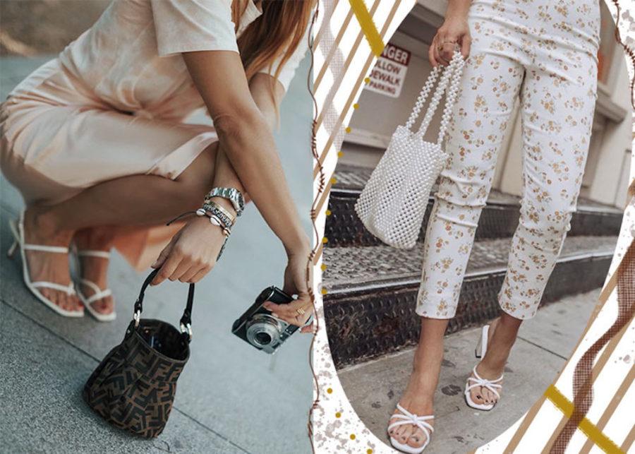 Quante scarpe bianche! - Lorella Flego